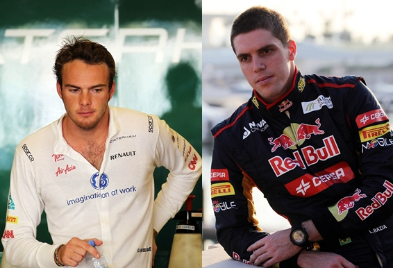 Giedo Van der Garde confirmado por Caterham F1 y Luiz Razia por Marussia, dos novatos para completar la parrilla del 2013 en la Formula 1