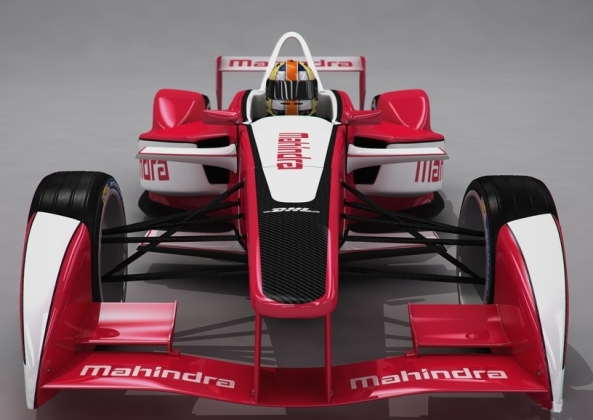 Mahindra racing formula e team 2014